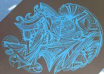 Fantasie, Surreal, Dynamik, Zeichnungen