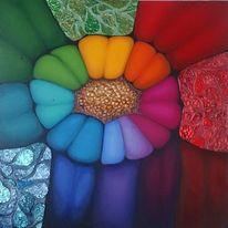 Bunt, Malerei, Farben, Struktur