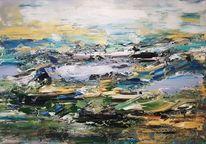 Abstrakte kunst, Zeitgenössische malerei, Abstrakte malerei, Moderne malerei