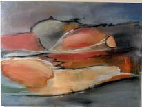 Blau, Abstrakte malerei, Moderne malerei, Moderne kunst
