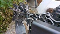 Metallroboter, Metallskulptur, Metall, Kunsthandwerk