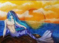 Merman, Zeichnung, Fantasie, Manga