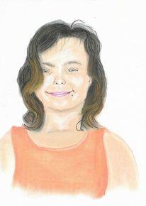 Pastellmalerei, Zeichnung, Lächeln, Zeichnungen
