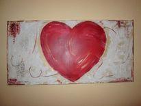 Gaube ist liebe, Herz und mehr, Liebe ist, Malerei