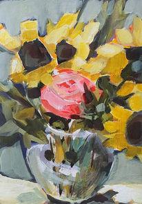 Stillleben, Acrylmalerei, Malerei