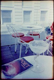 Fotografie, Cafe, Dichter, Lomo