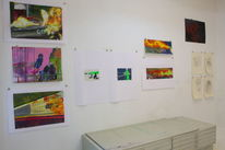 Ausstellung, Malerei, Gemälde, Mappenvorbereitung