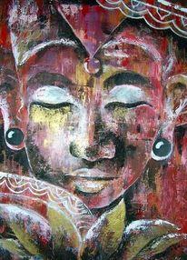 Bild wurde verkauft, Buddha, Erleuchtung, Transzendenz