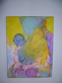 Wild, Abstrakt, Lebendig, Malerei