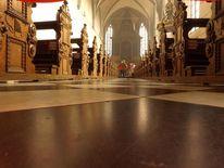 Hauptgang der kirche, Fotografie, Blick