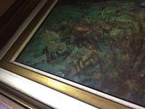 Malerei, Grün, Landschaft, Natur