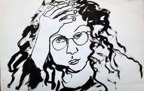 Gegenständlich, Selbstportrait, Figurativ, Menschen