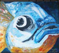Natur, Malerei, Fisch