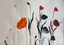Acrylmalerei, Fantasie, Bunt, Gefühl