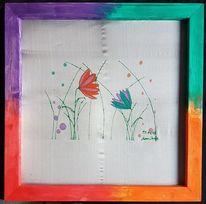 Blumen, Gefühl, Seide, Blumenwiese