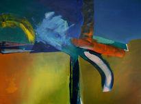 Mischtechnik, Malerei, Abstrakt, Modern