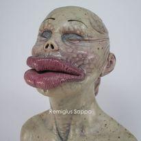 Schönheit, Gesicht, Frau, Plastik