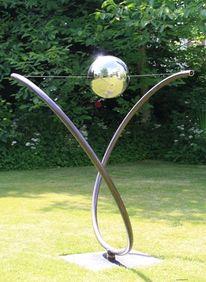 Stahl, Schrottkunst, Skulptur, Balance