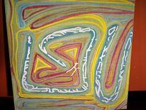 Galaktisch, Metapher, Mystik, Acrylmalerei