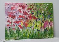 Garten, Blumen, Blumenwiese, Pflanzen