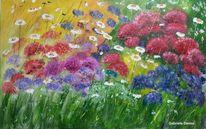 Artgallery, Wanddekoration, Pflanzen, Blumengarten