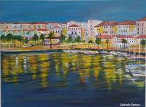 Urlaub, Promenade, Mallorca, Boot
