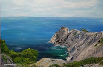 Felsen, Paradies, Cala radjana, Landschaftsmalerei