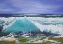 Atlantik, Strand, Surfen, Sonne