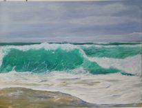 Atlantik, Strand, Ozean, Welle