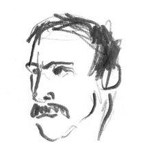 Gesicht, Mann, Portrait, Schnurrbart