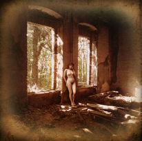 Verfall, Akt, Vintage, Ruine
