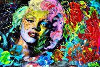 Acrylmalerei, Fotografie, Mischtechnik, Veredeln