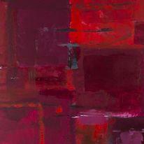 Ölmalerei, Acrylmalerei, Kreibig, Abstrakt