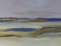 Wasser, Acrylmalerei, Landschaft, Malerei