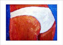 Frau, Figur, Akt, Ölmalerei