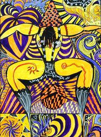 Göttin, Kreislauf, Ausdruck, Schlange