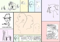 Zeichnung, Gesellschaft, Karikatur, Comic