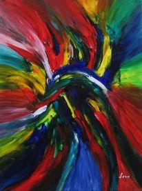 Modern, Zeitgenössisch, Acrylmalerei, Abstrakt
