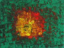 Acrylmalerei, Zeitgenössisch, Modern, Malerei