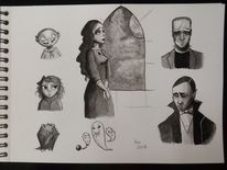 Concept art, Monster, Grusel, Gespenst