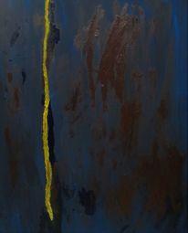 Blau, Gelb, Ausdruck, Braun