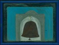 Fadenbild, Figural, Abstrakt, Kunsthandwerk