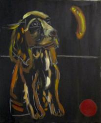 Schwarz, Tiere, Malerei, Braun