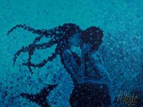 Meer, Kuss, Frau, Wasser