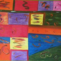 Abstrakt, Malerei, Zeichnen
