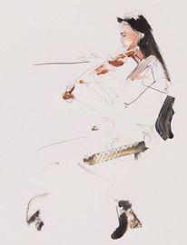 Mozart, Frau, Dortmund, Violine