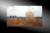Abstrakte malerei, Gemälde, Moderne kunst kaufen, Mischtechnik