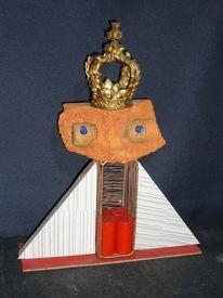 Assemblage, Montage, Skulptur, Büste
