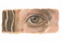 Dürer, Augen, Kaffe, Aquarellmalerei