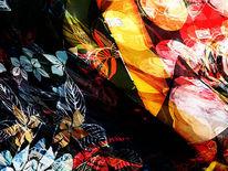 Bschoeni, Abstrakt, Blumen, Digitale kunst
